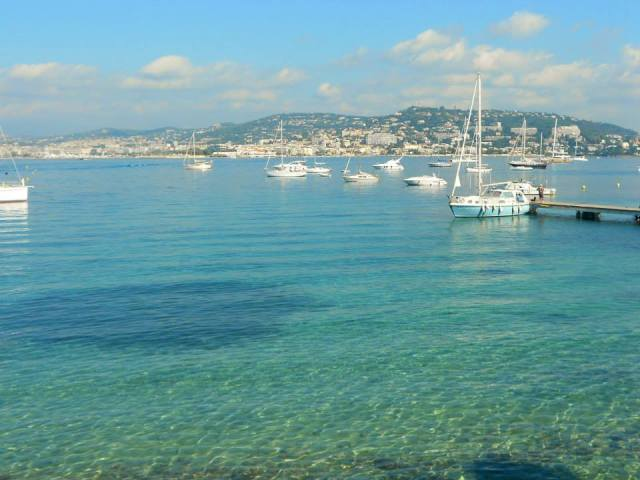 Incontestablement la plus belle vue sur Cannes depuis l'île Sainte Marguerite