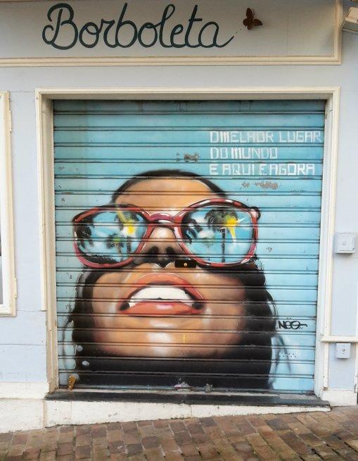 Le 'street art' présent aussi dans le vieux Cannes