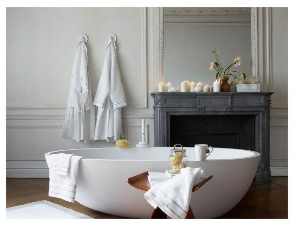 La salle de bains se fait epurée et sublime chez Zara Home...