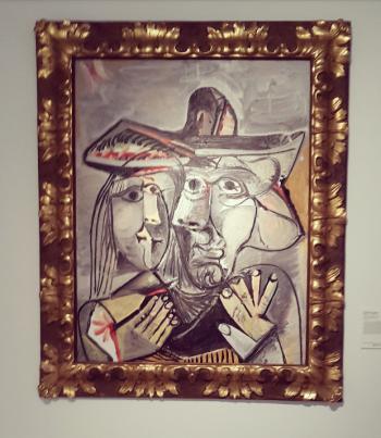 'Homme et Femme' - Pablo Picasso